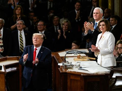 President Donald Trump delivers his third State of the Union Address
