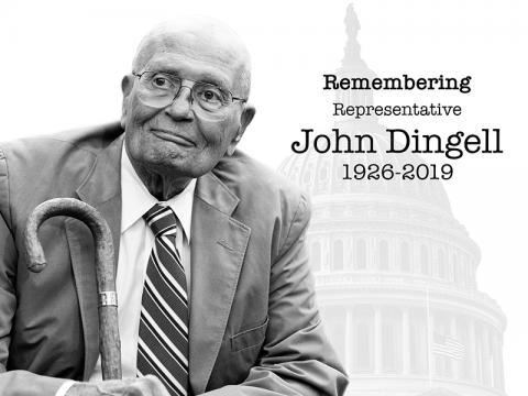 Remembering Rep. John Dingell
