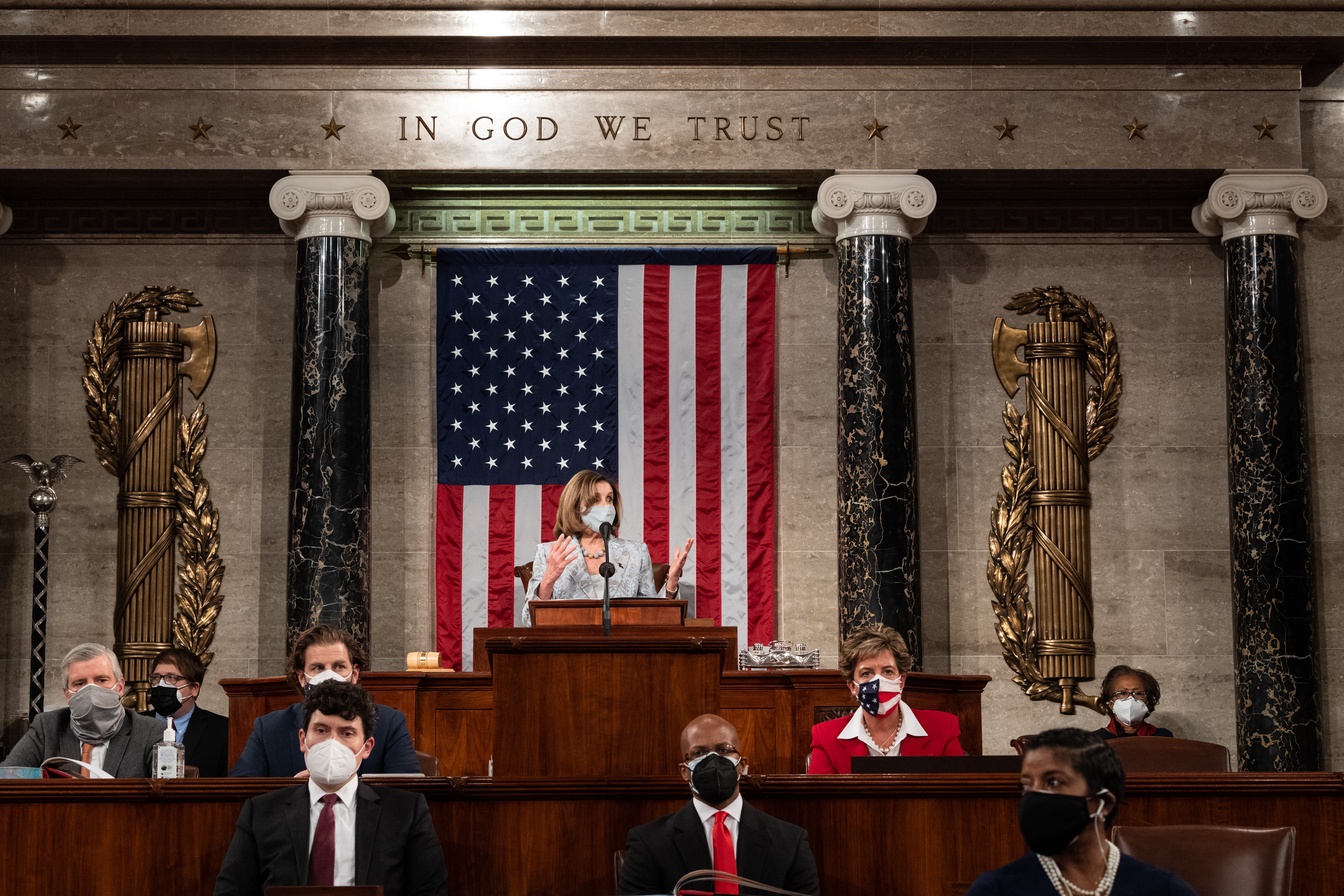 The 117th Congress was gaveled into session on Sunday, January 3, 2021. Photo by Franmarie Metzler.