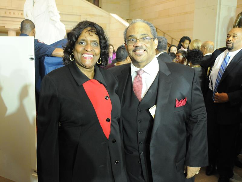 Alicia Thornton Smiley and her husband Harold Smiley