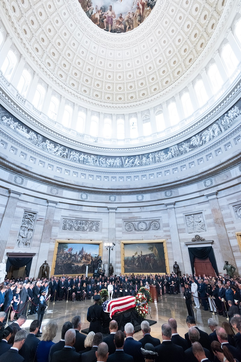 The U.S. Capitol Rotunda. Photo by Eric Connolly.