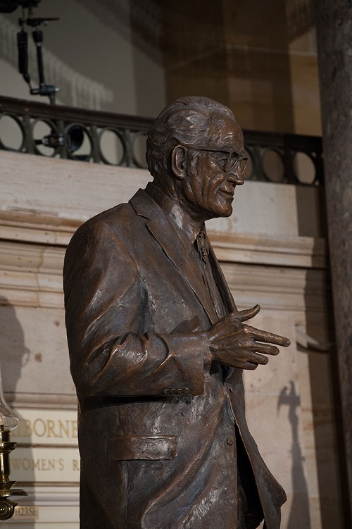 Barry Goldwater Statue Dedication End